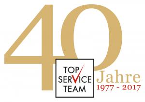 TOP SERVICE TEAM - 40 Jahre TST